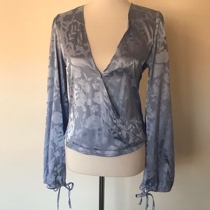 Urban Outfitters Satin Shirt